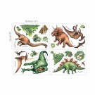 Wallstickers Dinosaurer vannfarger Glow-in-the dark thumbnail