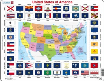 Puslespill United States of America