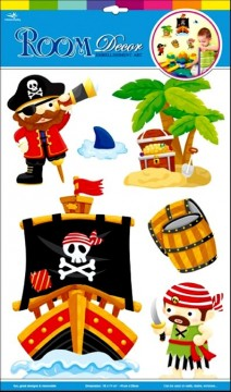 Decostickers 3D Pirater