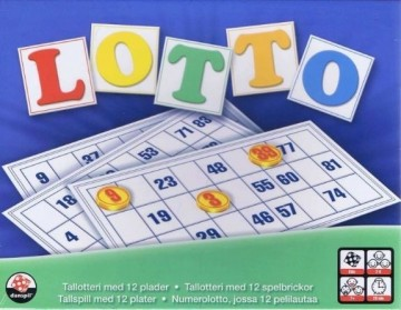 Lotto med tall