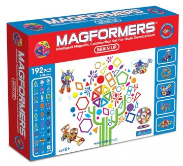 Magformers Brain Up byggesett magnetbrikker