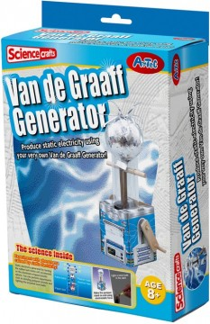 Science Crafts Van de Graaff Generator byggesett