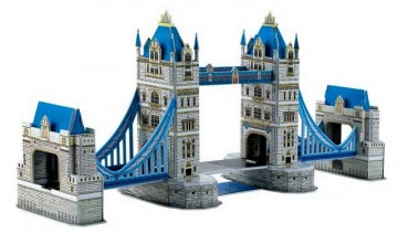 3D-puslespill Tower Bridge