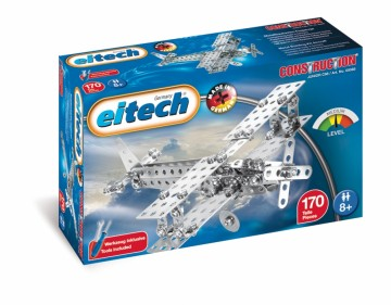 Eitech metallbyggesett Propellfly