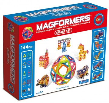 Magformers Smart Set 144 klassesett