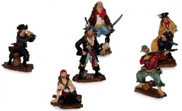 Piratfigurer 12 stk.